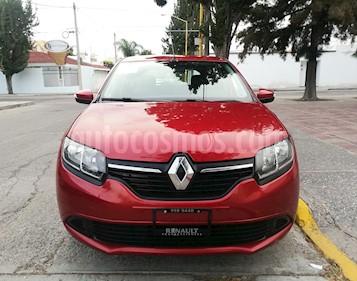 Foto venta Auto Seminuevo Renault Sandero Expression Aut (2017) color Rojo Fuego precio $146,000