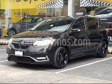 Foto venta Auto usado Renault Sandero Expression Aut (2017) color Negro precio $210,000