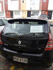 Renault Sandero Expression  usado (2014) color Negro precio u$s12.000