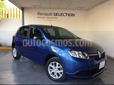 Foto venta Auto Seminuevo Renault Sandero Expression (2017) color Azul precio $175,000