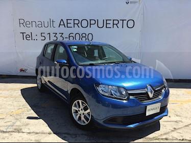Foto venta Auto usado Renault Sandero Expression (2017) color Azul precio $147,000