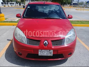 Renault Sandero Expression usado (2011) color Rojo Vivo precio $82,000