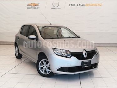 Foto Renault Sandero Expression usado (2017) color Plata precio $149,000