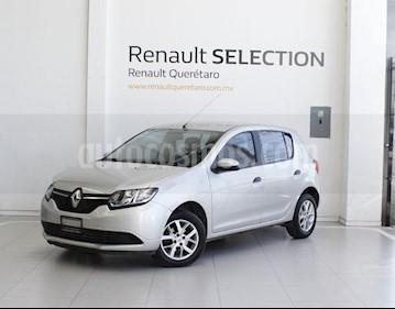 Foto venta Auto usado Renault Sandero Expression (2017) color Plata precio $135,000