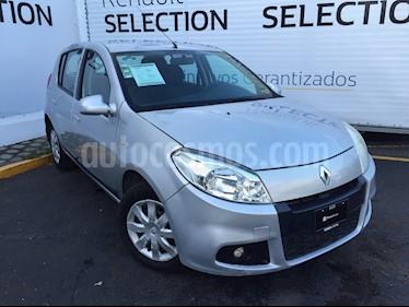 Foto venta Auto usado Renault Sandero Expression  (2014) color Plata precio $105,000