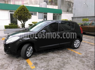 foto Renault Sandero Expression usado (2012) color Negro Nacré precio $90,000