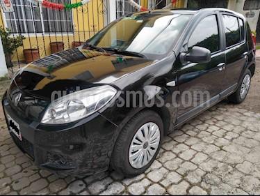 Renault Sandero Expression  usado (2014) color Negro precio $109,900