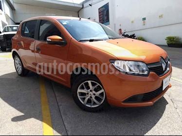 Foto Renault Sandero Expression usado (2017) color Naranja precio $145,000