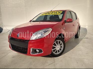 Renault Sandero Dynamique usado (2014) color Rojo precio $112,000