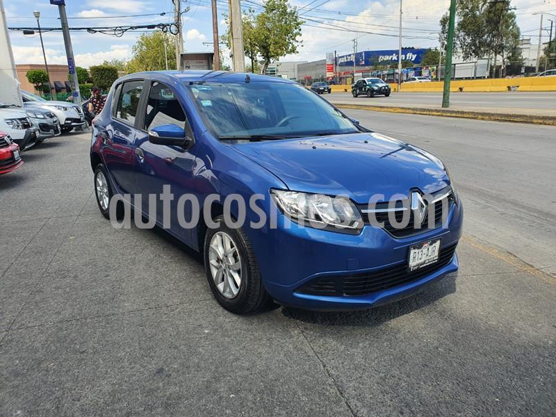 Renault Sandero Expression Aut usado (2017) color Azul precio $135,000