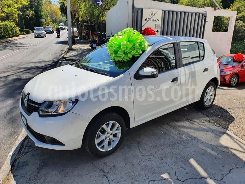 Renault Sandero Expression usado (2017) color Blanco precio $135,000