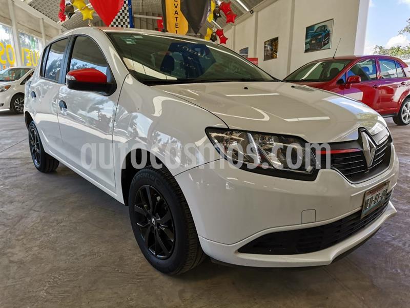 Renault Sandero Expression usado (2017) color Blanco Glaciar precio $148,000