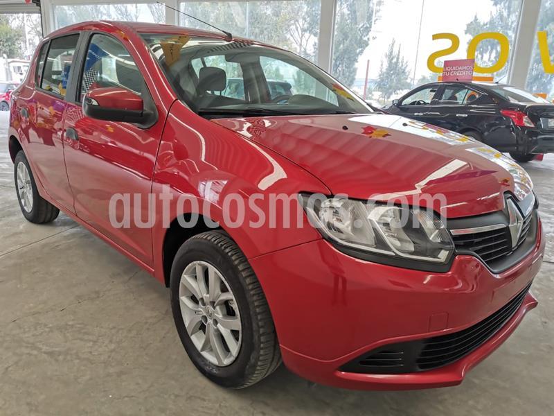 Renault Sandero Expression usado (2017) color Rojo Fuego precio $140,000