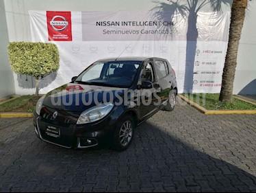 Renault Sandero Dynamique usado (2013) color Negro precio $105,000