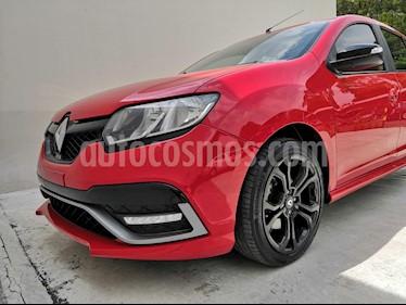 Renault Sandero R.S. 2.0L usado (2017) color Rojo Vivo precio $178,000