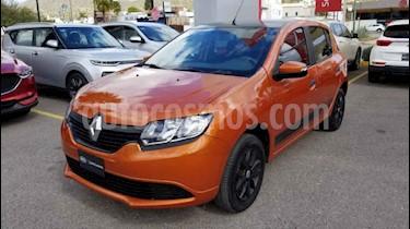 Renault Sandero 5p Expression L4/1.6 Man usado (2017) color Naranja precio $130,000