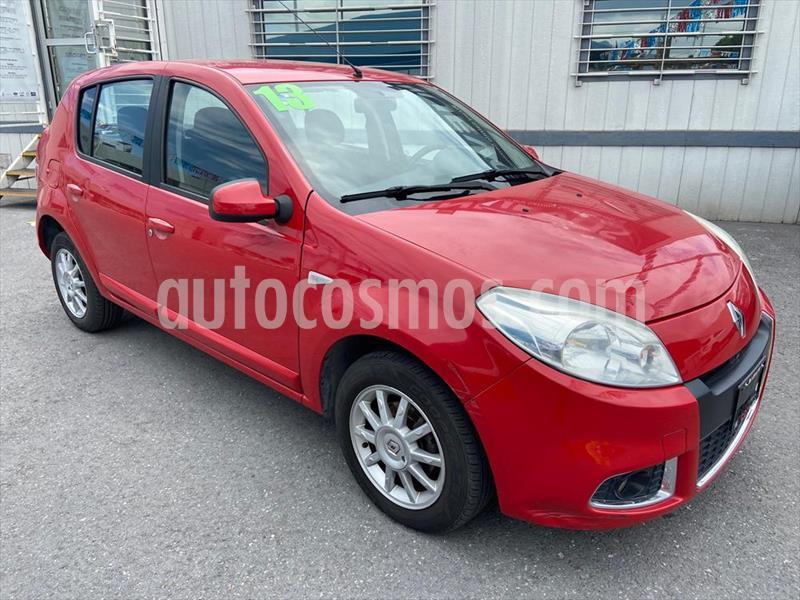 Renault Sandero 5P DYNAMIQUE 1.6 MAN usado (2013) color Rojo precio $84,000
