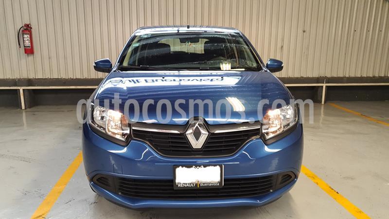 Renault Sandero Expression Aut usado (2017) color Azul precio $145,000