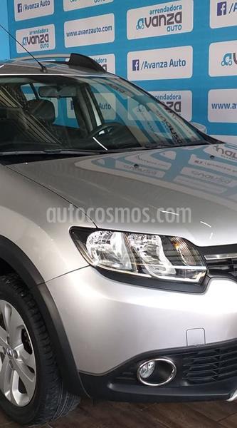 Renault Sandero Intens Aut usado (2018) color Plata Dorado precio $169,000