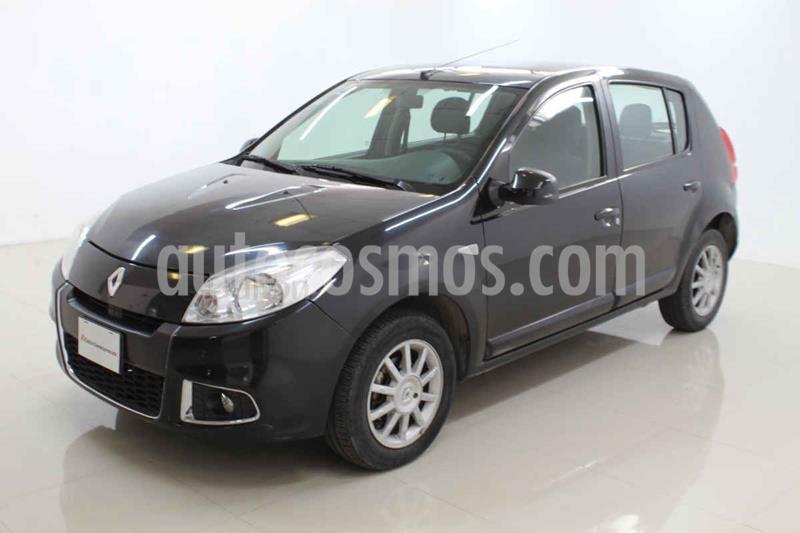 Renault Sandero Dynamique Aut usado (2014) color Negro precio $105,000
