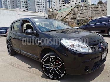 Renault Sandero 5p Authentique 5vel usado (2011) color Negro precio $70,000