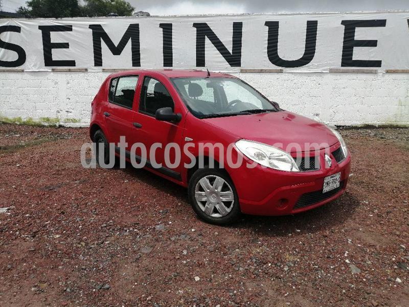 Renault Sandero Expression usado (2010) color Rojo Vivo precio $78,000