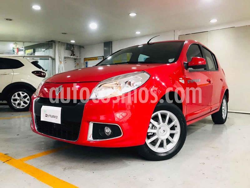 Renault Sandero Dynamique Aut usado (2015) color Rojo precio $122,000