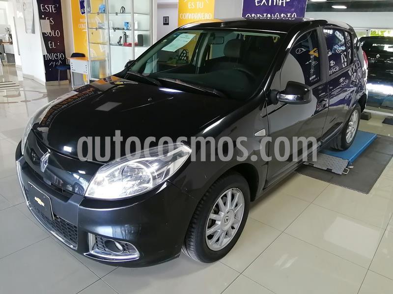 Renault Sandero Dynamique usado (2014) color Negro precio $115,000