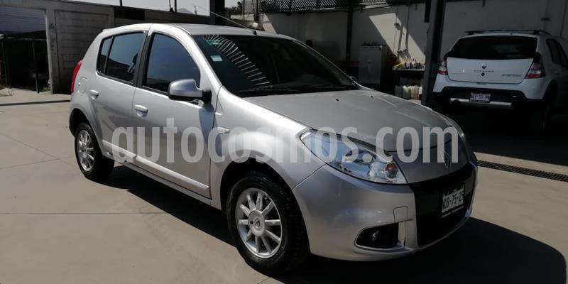 Renault Sandero Dynamique usado (2014) color Plata precio $120,000