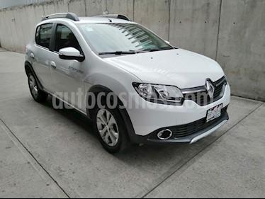 Renault Sandero Intens Aut usado (2018) color Blanco precio $190,000