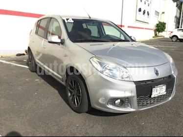 Foto venta Auto usado Renault Sandero SANDERO DYNAMIQUE MT (2014) color Gris Estrella precio $105,000