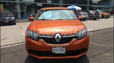 Foto venta Auto usado Renault Sandero Zen (2018) color Naranja precio $165,000