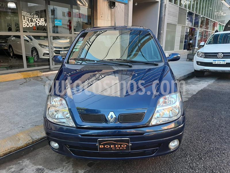 Renault Scenic 1.6 Privilege usado (2004) color Azul precio $410.000