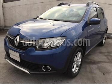 Renault Stepway 5p Zen L4/1.6 Man usado (2018) color Azul Marino precio $175,000