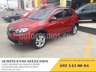 Foto venta Auto usado Renault Stepway 5p Zen L4/1.6 Man (2018) color Amarillo precio $195,000