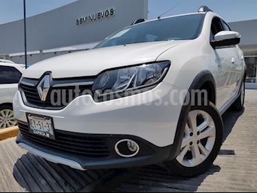 Foto venta Auto usado Renault Stepway Dynamique (2018) color Blanco Alaska precio $194,900