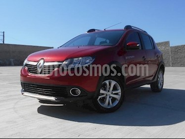 Foto venta Auto usado Renault Stepway Dynamique (2017) color Rojo Fuego precio $179,000