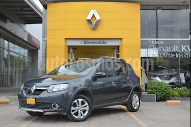 Renault Stepway Expression usado (2017) color Gris Cometa precio $170,000