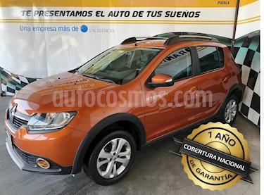 Foto venta Auto usado Renault Stepway Expression (2016) color Naranja precio $158,000