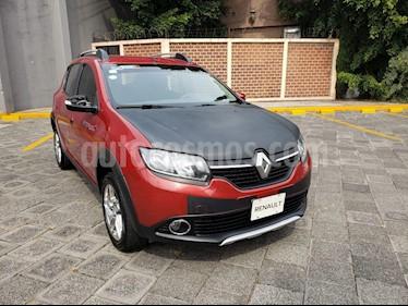 Foto venta Auto usado Renault Stepway Expression (2016) color Rojo Fuego precio $165,000