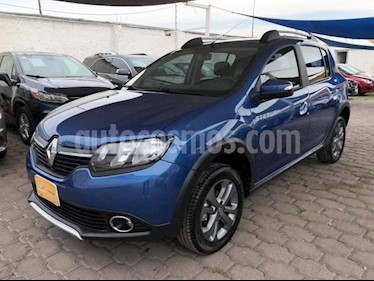 Renault Stepway 5P HB STEPWAY INTENS 1.6L TM5 A/AC. AUT VE GPS RA usado (2019) color Azul precio $205,000