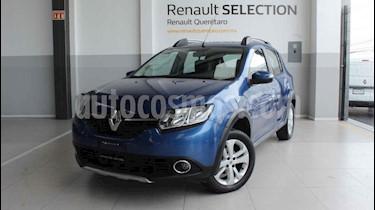Renault Stepway 5p Intens L4/1.6 Man usado (2018) color Azul precio $190,000