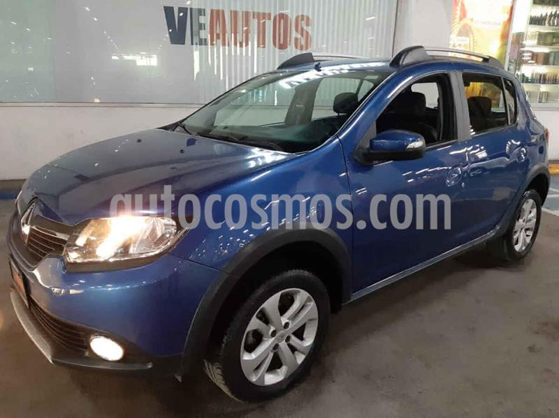 Renault Stepway Intens usado (2018) color Azul precio $159,000
