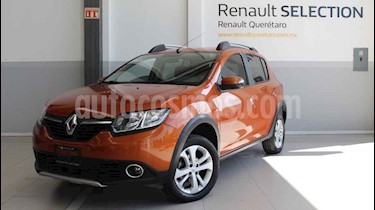 Renault Stepway Intens usado (2018) color Naranja precio $200,000