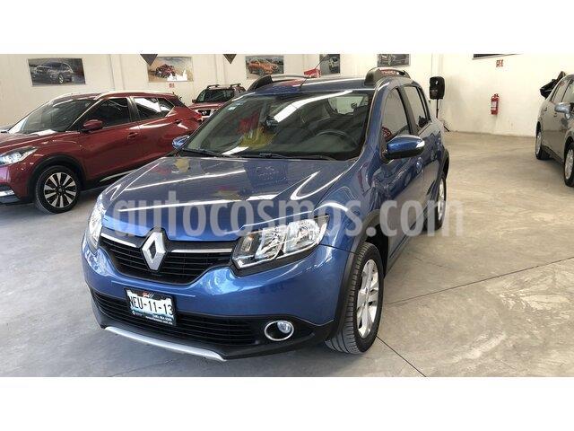 Renault Stepway Intens Aut usado (2018) color Azul precio $185,000