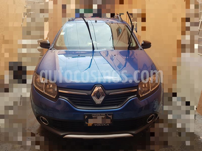Renault Stepway Dynamique usado (2017) color Azul precio $160,000