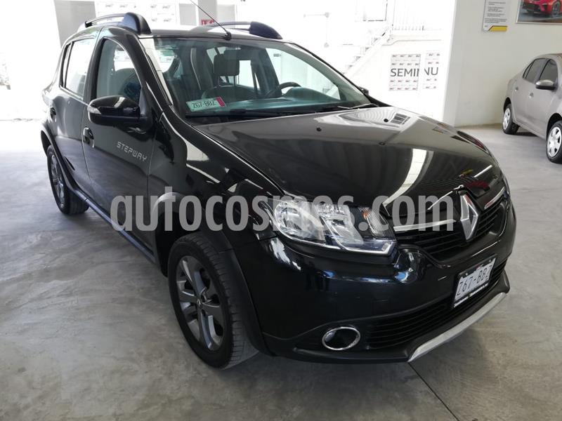 Renault Stepway Expression usado (2019) color Negro precio $195,000