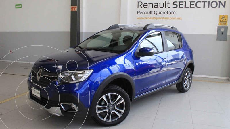 Foto Renault Stepway Intens usado (2021) color Azul precio $273,300