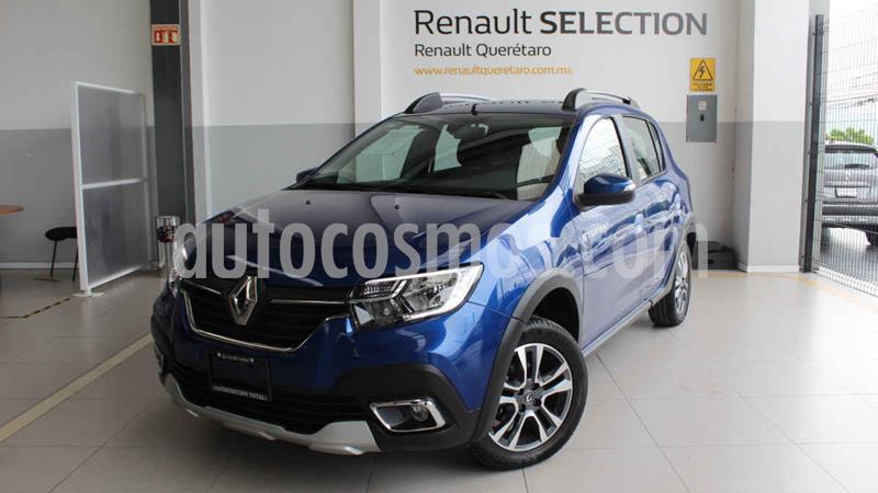 Renault Stepway Intens Aut usado (2020) color Azul precio $280,000