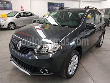 Renault Stepway Zen usado (2018) color Gris Cometa precio $189,000
